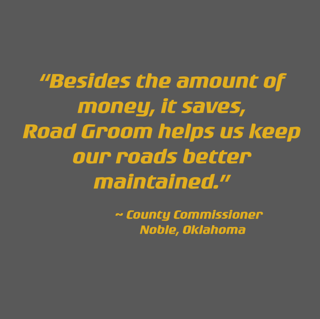 keeps our roads better maintained