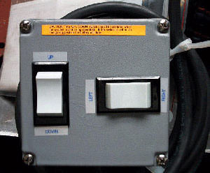 Switch Box for Pump Kit